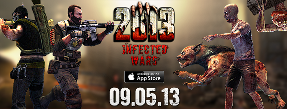 2013: Infected Wars is Available in the App Store!
